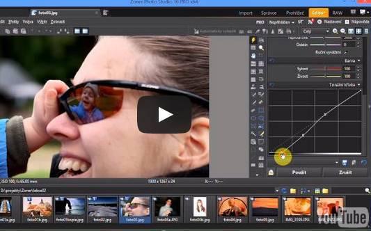 Photo Studio Zoner - návod na úpravu fotek