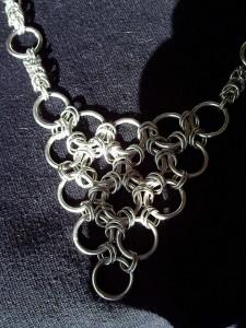 šperky chainmaille z kroužků