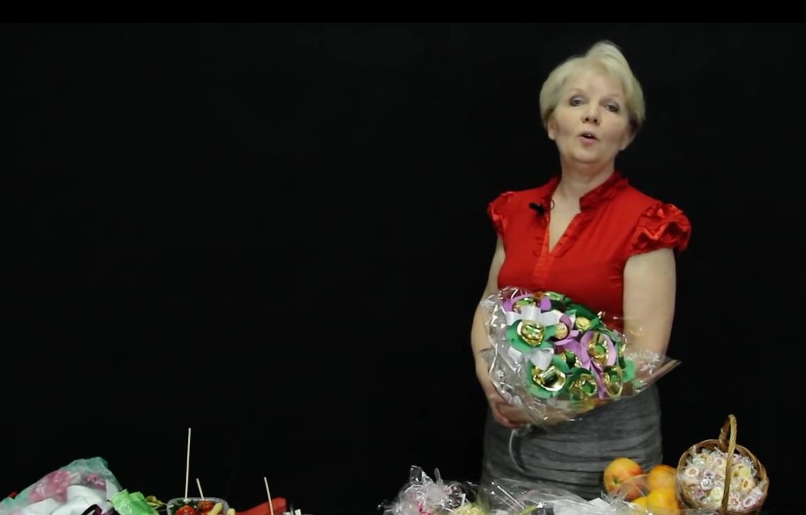 jak vyrobit jedlé kytice