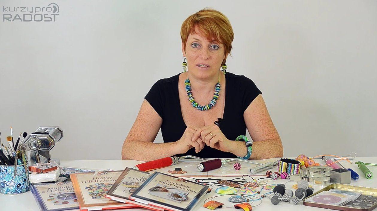 Fimo - kurz výroby šperků